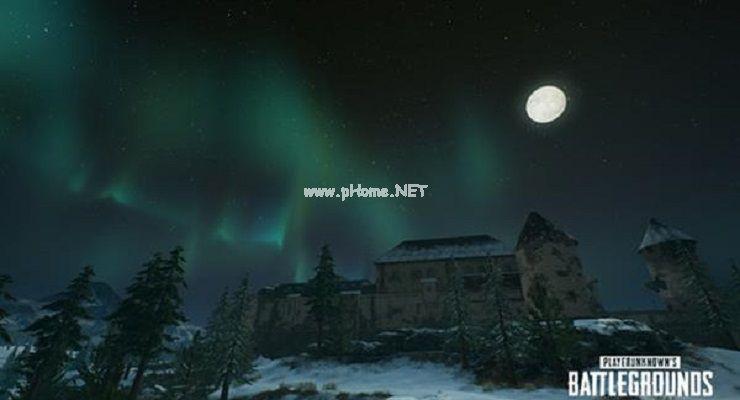 《绝地求生》PC 1.0第25轮更新:超级月亮+唯美北极光
