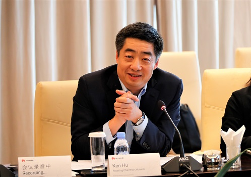 胡厚崑回应对华为禁令:请拿出证据!安全需让事实说明一切