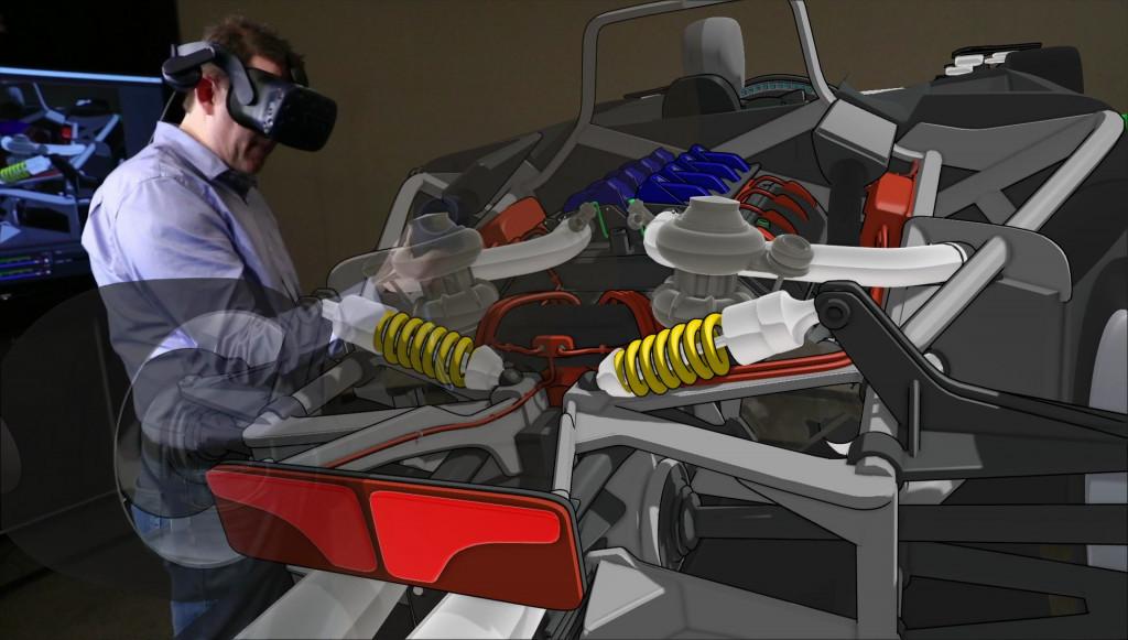 3D虚拟现实技术助力福特 或缩短汽车设计周期