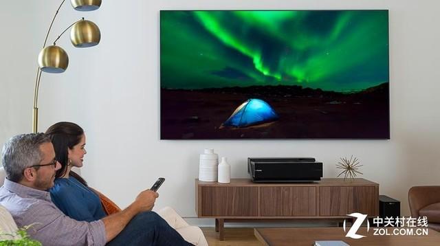 家用超大屏市场 激光电视的竞争力越来越强