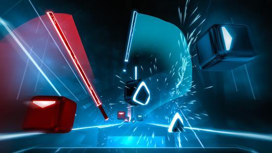 "SteamVR更新:《Beat Saber》玩家的速度已经达到""不可能"""