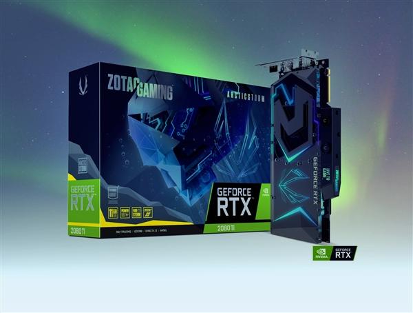 20相供电+水冷 索泰发布全新RTX 2080Ti显卡