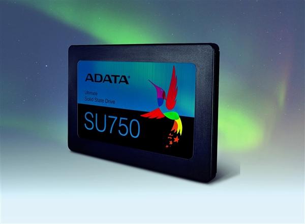 威刚发布全新固态硬盘SU750:最高550MB/s