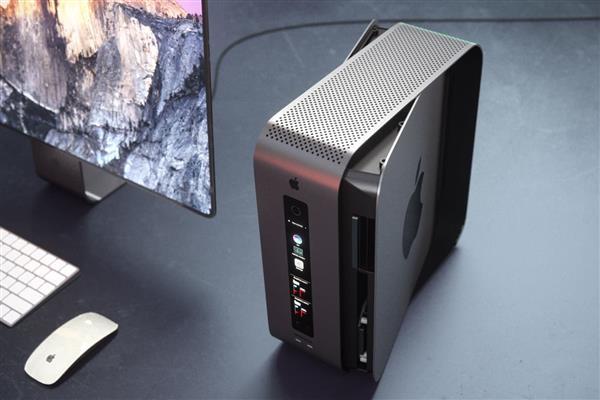 最强PC逆天!新款苹果Mac Pro曝光:堆叠模块设计