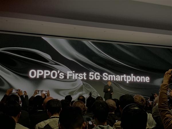 OPPO展示5G手机 高通总裁:这是全球首款骁龙855 5G手机