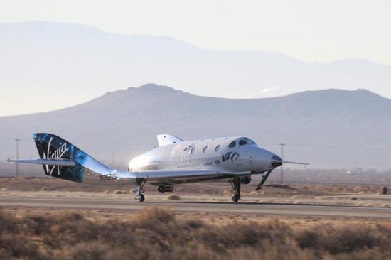 维珍银河飞船第五次超音速动力试飞携带一位神秘乘客