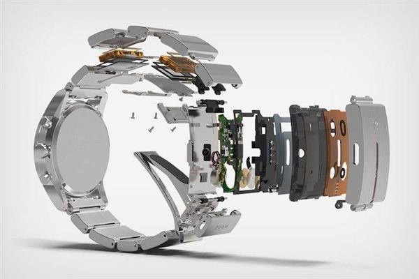 索尼做出的这个表带 让你的机械表秒变智能表