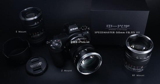中一光学发布Speedmaster 50mm f/0.95 III镜头