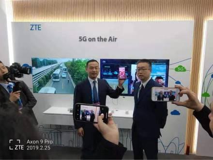 中兴通讯联合意大利Wind Tre、Open Fiber打通首个跨越地中海的5G智能手机视频电话