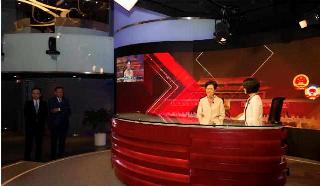 华为助力中国电信完成凤凰卫视首次5G超高清直播,特首点赞!