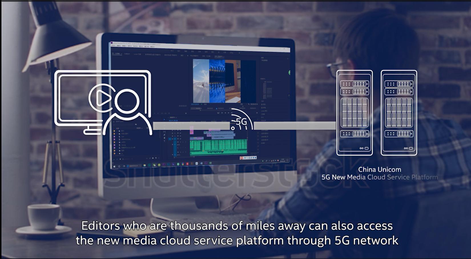 中国联通5G新媒体云服务亮相2019年世界移动大会