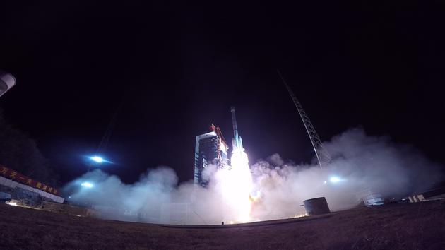 长征火箭第300次飞行!长征三号乙火箭发射通信卫星