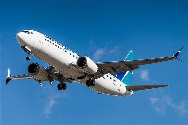 据报道 民航总局要求暂停运行波音737MAX机型