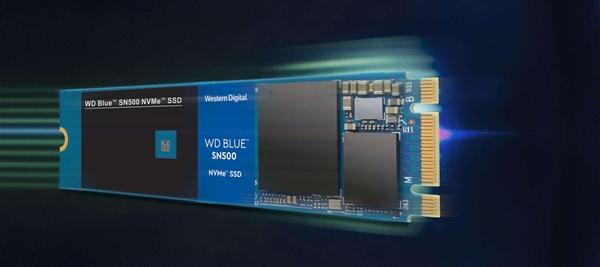 西数发布首款NVMe蓝盘SSD:读速1700MB/s