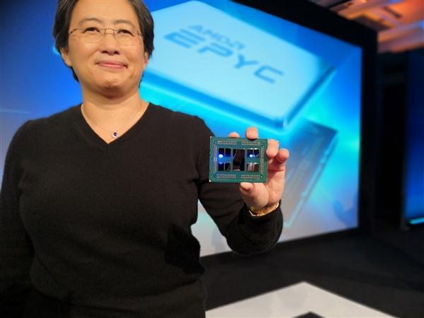 AMD EPYC发力:英特尔服务器市场份额将低于90%