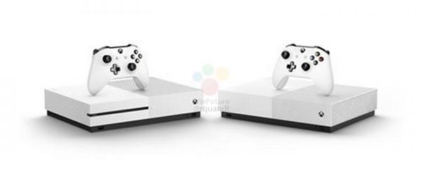 Xbox One S无光驱版发售细节曝光:预装三款大作