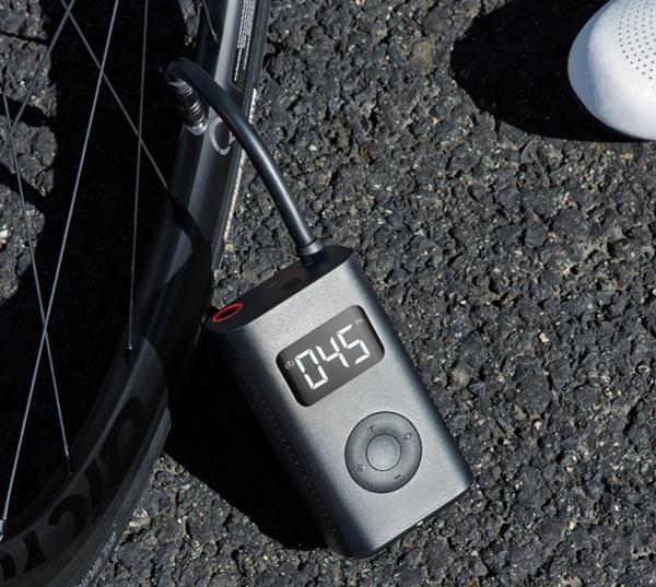 小米米家充气宝发布:可充5条汽车轮胎