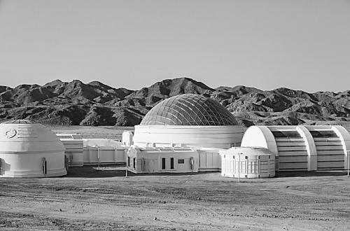 火星模拟基地亮相戈壁