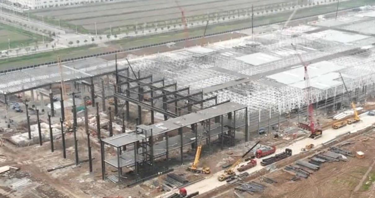 特斯拉上海超级工厂快完工 最快9月初试生产