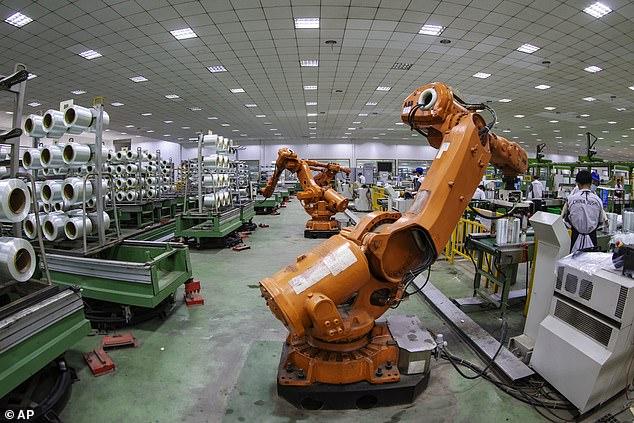 """瑞典用机器人从事人类认为""""太无聊""""的工作"""
