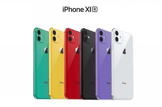 iPhone XR2后盖玻璃渲染图曝光:新增绿色和薰衣草色