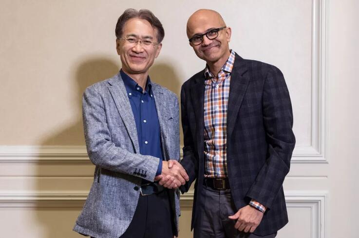 意外吗?微软索尼结成战略合作伙伴开发云游戏和AI