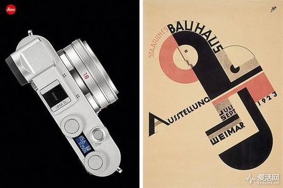 德国包豪斯建校100周年 徕卡发CL Bauhaus限量版相机
