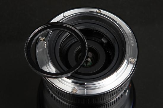老蛙FFII 10-18mm F4.5-5.6滤镜