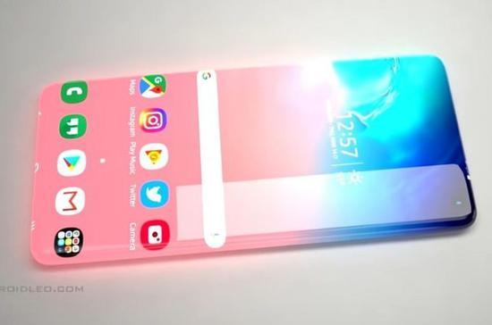 """2025版""""逆天""""手机 三星Galaxy Zero震撼零边框"""