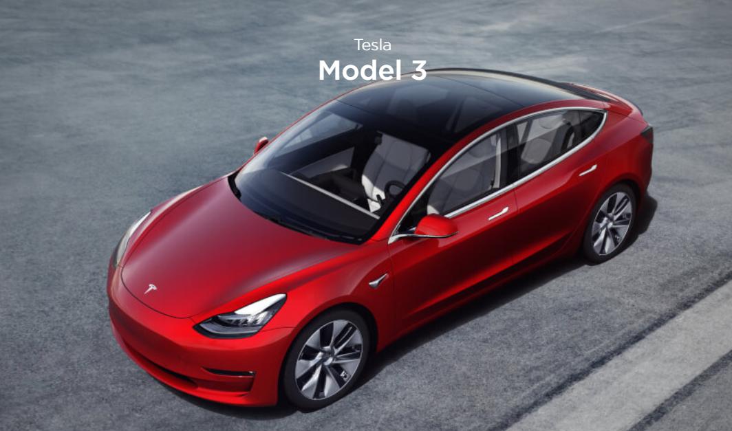 国产特斯拉Model 3起售价32.8万元