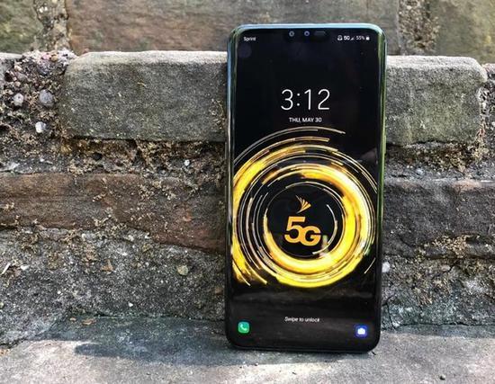 美国Sprint 5G网速测试 下载速度达到每秒109 Mbps
