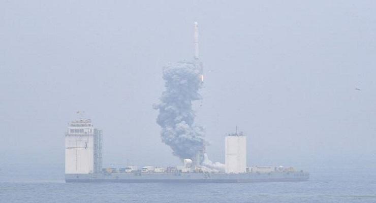 厉害了,我的国!首次固体运载火箭海上发射技术试验取得成功