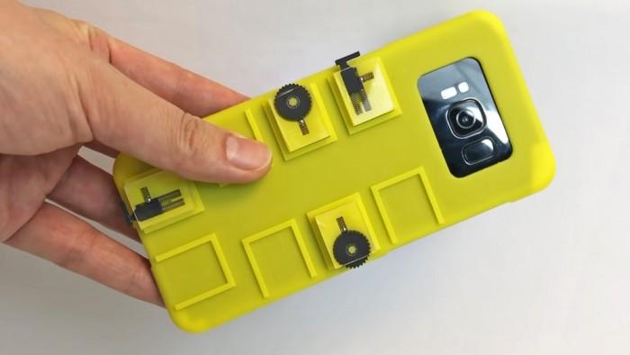 研究人员用智能外壳控制手机 无需数据线或蓝牙