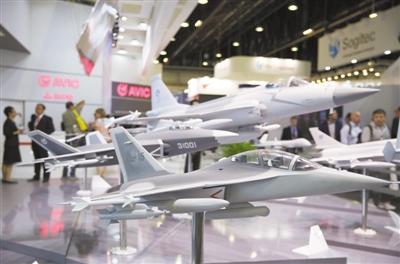 中国航空航天企业亮相巴黎航展