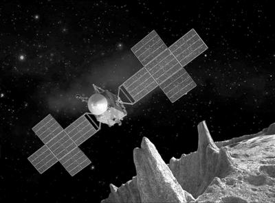 """太阳系的""""丑大富""""什么样? 灵神星任务首次瞄准巨型全金属小行星"""