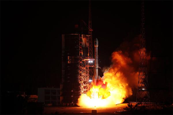 中国成功发射第46颗北斗导航卫星 提升覆盖能力