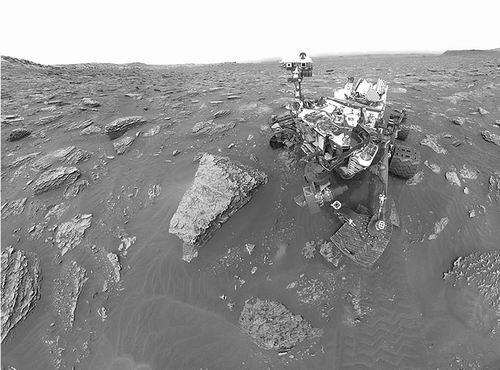 """""""好奇""""号测得迄今火星甲烷峰值 或来自行星表面气体羽流"""