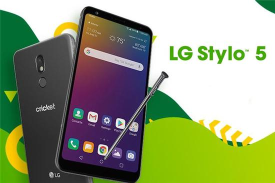 LG Stylo 5在美国正式推出,售价229.99美元
