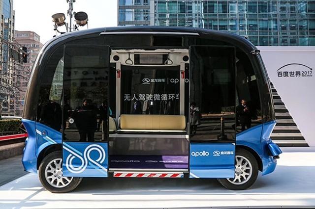 百度被评为最聪明公司:皆因阿波罗电动汽车