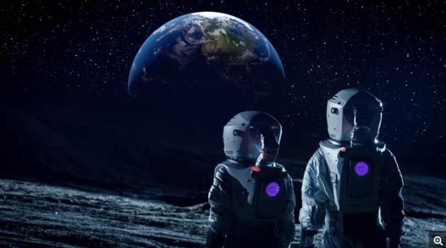 如果你生活在月球上,你会看到什么?