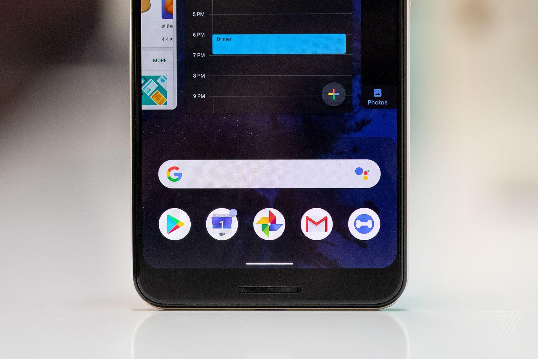 Android Q改进手势 从屏幕两侧向内滑动即可后退