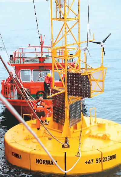 让台风飓风海啸无处遁形 中国打造全球海洋观测网