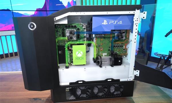 史上最强游戏机发布:PS4/XB1/Switch/PC四合一