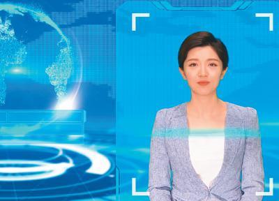 """主播""""果果""""面世记 走近人民日报社首位AI虚拟主播"""