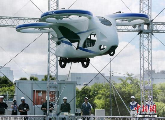 """日""""飞车""""上天:形似无人机3米高空盘旋一分钟"""