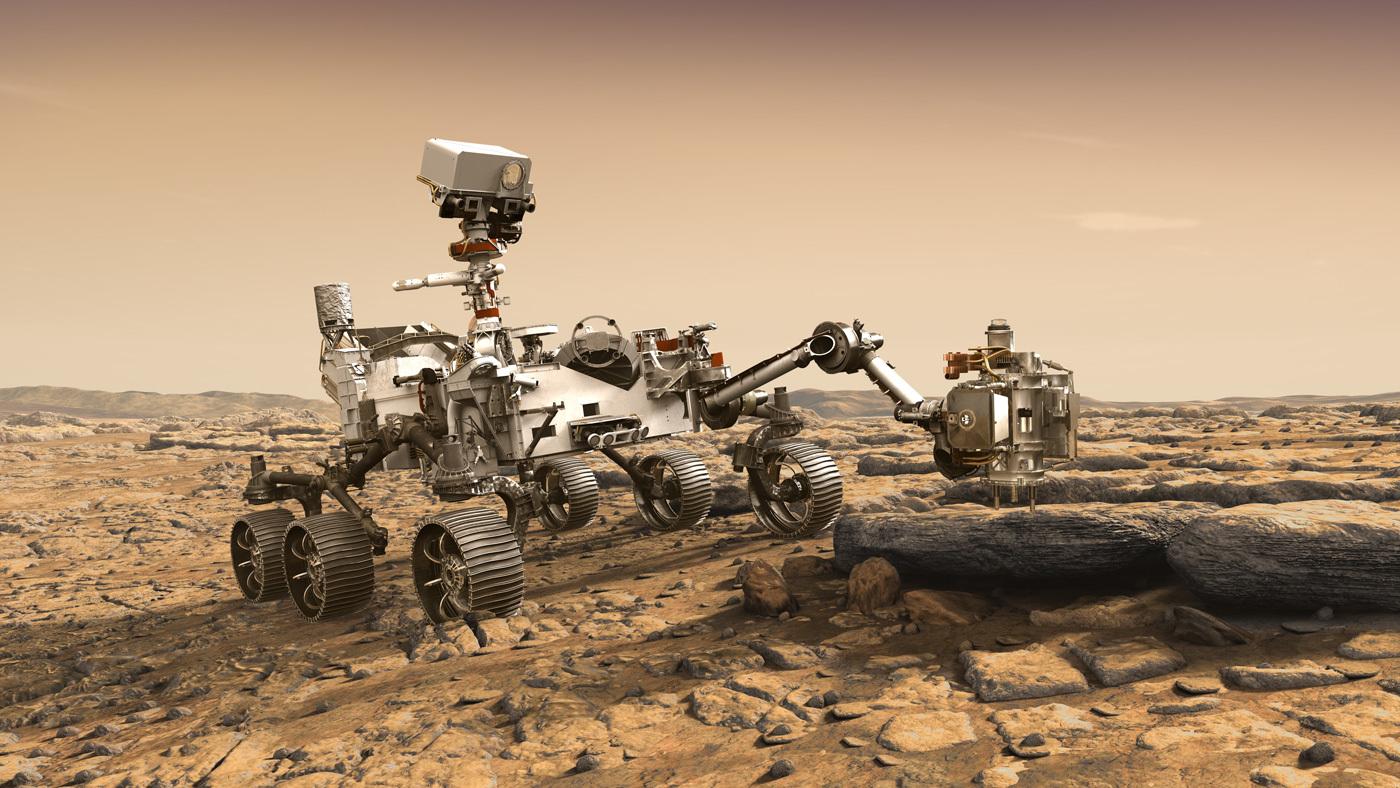 Mars 2020火星车长啥样?一起去NASA组装室看一看