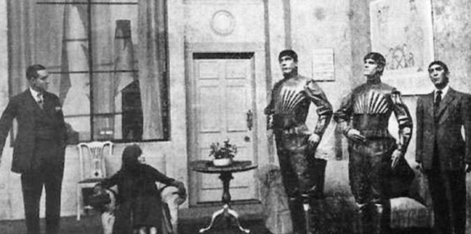 """谁发明了""""机器人""""这个词儿?其实源于1921年捷克戏剧"""
