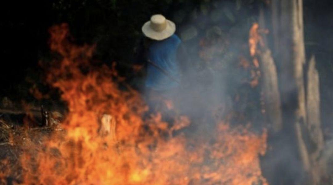 """此刻!亚马逊雨林""""地狱之火""""在燃烧,谁为此负责?"""