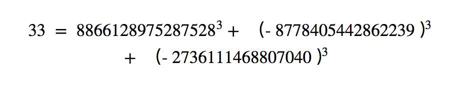 人类首次将42写成3个整数的立方和,最后一个100以内的自然数告破