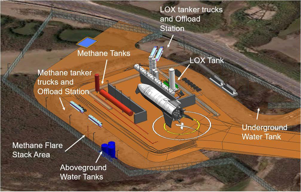 SpaceX升级两处发射台:准备试飞星际飞船原型